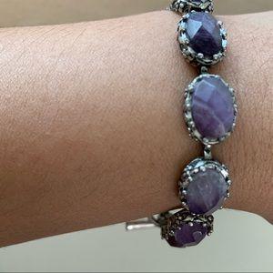 LUCKY brand boho toggle stone bracelet